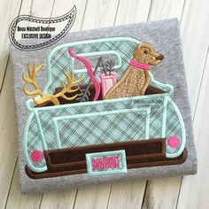Bow Hunting Truck applique - Beau Mitchell Boutique