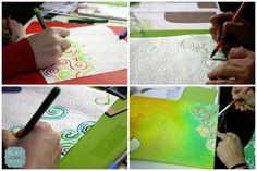 Art Journal Scrapbooking: dylusions ink
