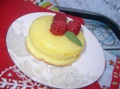 Лимонный кекс-пудинг