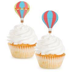 Up, Up, & Away Cupcake Picks, 12 pk