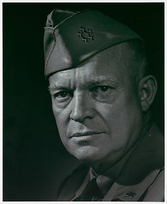 Dwight D. Eisenhower, by Yousuf Karsh, 1946