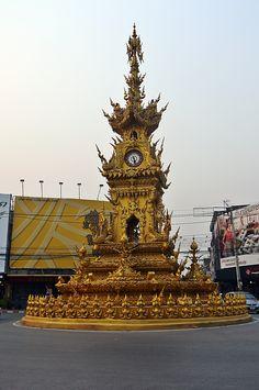 Chiang Rai : La tour de l'horloge
