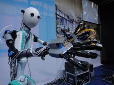 real robots | Japanese Telexistence Robot Is Like a Real-Life Avatar | Gadget Lab ...
