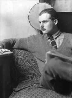 These three photos of Hemingway are from taken in Paris by Man Ray, whose self-portrait is at the top. Judging by the tie, shirt,. Man Ray, Book Writer, Book Authors, Earnest Hemingway, Francis Picabia, Writers And Poets, Portraits, Special People, Black And White