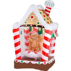 Gemmy Animated Christmas Characters Riding Carousel ...