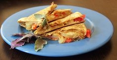 Recipe: Vegetable and Goat Cheese Quesadilla