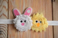 Easter Bunny Headband Rabbit Headband Bunny and by angelabrice, $7.95