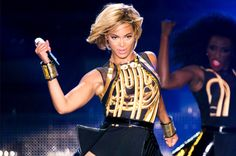 Love Beyonce's short hair!