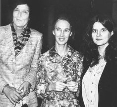LEAKEY'S ANGELS : Dian Fossey, Jane Goodall, and Birute Mary Galdikas (from left to right) devoted their lives to studying gorillas, chimpanzees and orangutans, respectively.
