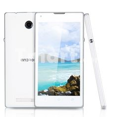 """J L35H 4.7"""" Android 4.1.1 GSM 2 Mega Pixels Dual Card Dual Standby Cellphone ( US Standard ) White"""