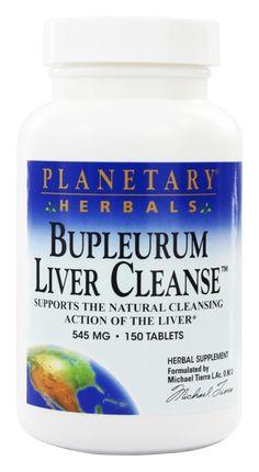 Planetary Herbals - Bupleurum Liver Cleanse 545 mg. - 150 Tablets Planetary Herbals Bupleurum Liver Cleanse 545 m Female Hormone Imbalance, Rhodiola Rosea, Liver Cleanse, Health And Wellness, Herbalism, Vitamins, Herbs, Spectrum, Brown