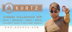 The  A. KURTZ brand is a tribute to our mentor… a musician, artist,  scholar, and humanitarian. A man who bore very difficult  responsibilities with courage, dignity and honor. A. KURTZ debuted in  2004 as a premium, military flavored, casual line of apparel and  accessories. http://www.akurtz.com/