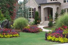Absolutely gorgeous yard design!!