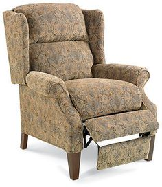 Hillsboro Recliner Chair, Queen Anne Style Wing