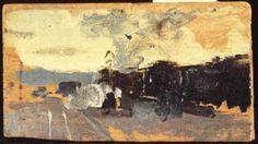 Estación de ferrocarril. 1885-89