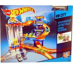 CDL36  Hot-Wheels-HW-City-Speedtropolis-Track-Set-Playset MATTEL