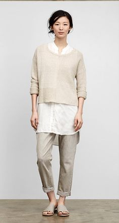 Eileen Fisher - sustainable and fair clothing. April 2015. http://www.eileenfisher.com/EileenFisher/collection/spring/lookbook.jsp