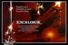 EXCALIBUR movie poster hellen MIRREN nigel TERRY wizard king sword 24X36 Brand New. 24x36 inches. Will ship in a tube. Reproduction of aged original vintage art print. Great wall decor art print at a