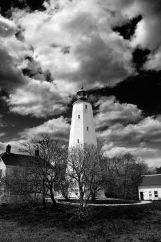 Sandy Hook Lighthouse by Jon C. Hodgson  http://photos.jonq.com/