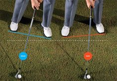 You don't have to change your swing to hit draws or fades.