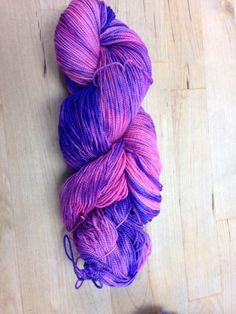 2 ply sock yarn October 2014 OOAK