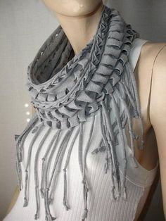 Make a statement scarf.