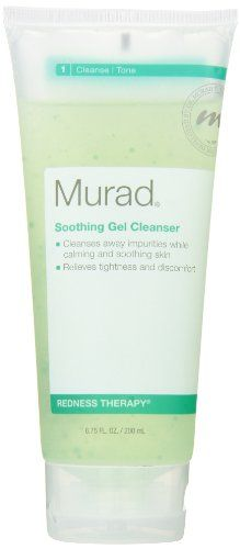 Murad Redness Therapy Soothing Gel Cleanser, Step 1 Cleanse/Tone, 6.75 fl oz (200 ml) - List price: $27.00 Price: $22.40