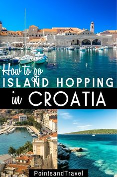 Here are the best islands to visit in Croatia in island hopping in Croatia is the best way to explore the country. This travel guide has everything you need to know before island hopping in Croatia: where to go, how to get there, the best beaches in Croatia Travel Guide, Europe Travel Guide, Europe Destinations, Travel List, Holiday Destinations, Italy Travel, Travel Guides, Visit Croatia, Zagreb Croatia