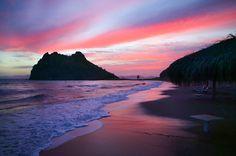 Loreto Bay Resort at Sunset