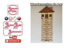 Mandamentos do lar - mdf http://amocarte.blogspot.com.br/