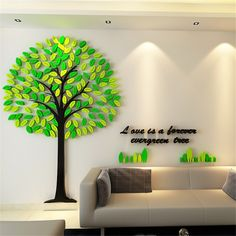 Crystal Acrylic Tree Wall Stickers Cartoon Big Tree Stickers for Child Room TV Background Wall decorative painting Home Decor. Category: Home & Garden. Subcategory: Home Decor. Wall Stickers Cartoon, Kids Room Wall Stickers, Cheap Wall Stickers, Living Room Tv, Tree Wall, Classroom Decor, Wall Design, Wall Murals, Kids Rooms