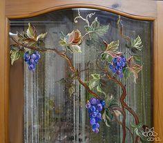 роспись окна витражными красками