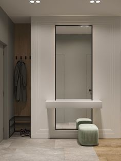 Goodhouse on Behance Art Deco Bedroom, Bedroom Bed Design, Decoration Bedroom, Apartment Entryway, Apartment Design, Design Hall, Home Entrance Decor, Home Decor, Lobby Interior