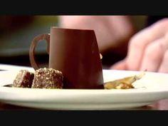 Oh my mmmmm cafe creme chocolate dessert by Raymond Blanc