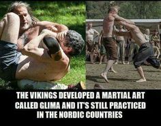 Our ancestors developed a martial art called Glima. It is still practised to this day in the Nordic countries. Norse Pagan, Old Norse, Norse Mythology, Viking Life, Viking Warrior, Arte Viking, Viking Facts, Grandeur Nature, Viking Culture