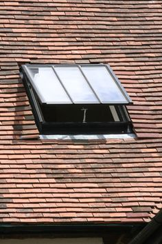 Clement conservation rooflight in tile roof