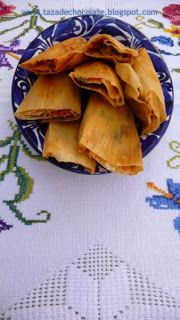 GCCTamales filled with Carnitas in Pipian Sauce Tamales
