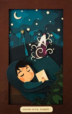 Andrea Nguyen: Paper cut illustration