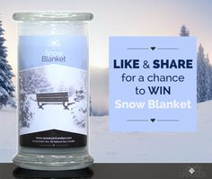 ***SNOW BLANKET CONTEST!!*** LIKE, comment and REPIN this post for a chance to win a NEW Snow Blanket candle! Hot cocoa, warm sweaters, sizzling fires and sledding. Tell us! What are YOUR favorite things about wintertime? Like, comment below and repin this post to enter to win this NEW scent. Contest winner announced Monday, January 26, 2015 at 12:00 PM EST. Pinterest is not affiliated with this contest. www.JewelryInCandles.com #JICScents #SnowBlanket #giveaway #DiscoverJIC