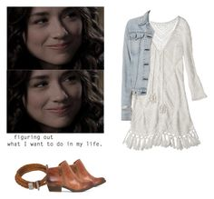 Allison Argent picknick date outfit - tw / teen wolf by shadyannon on Polyvore featuring polyvore fashion style Calypso St. Barth rag & bone Lucky Brand Mountain Khakis clothing