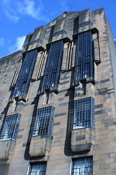 Side Elevation, Glasgow School of Art