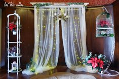 Rincon_altar_arco_welc_alquiler_las_tres_sillas Altar, Home Decor, Arch, Blinds, Chairs, Wedding Decoration, Furniture, Decoration Home, Room Decor