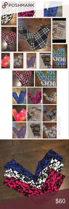 10 piece soft & comfortable leggings lot Brand new no tag leggings lot Get all 10 pairs of leggings  See all pictures  Brand name: B-envied Material: 94% Cotton 6% spandex Machine wash Choose your size: Small medium large B-envied Pants Leggings