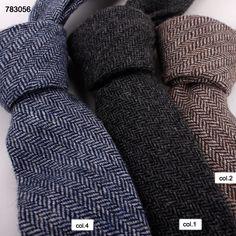 latest design  wheat stripe mens causal wool neck ties783056