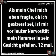 Chef, der Hammer