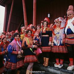 FolkCostume&Embroidery: Overview of the Folk Costumes of Europe, Lappland