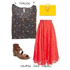 LuLaRoe Outfit Featuring the LuLaRoe Classic T. This Rocket Classic T makes me want to channel my inner Miss Frizzle.