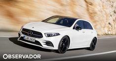 Foi oficialmente revelada a quarta geração do mais barato dos Mercedes. O novo Classe A ganha estilo e três novas motorizações. Também cresce. Em dimensões, mas principalmente no arsenal tecnológico. http://observador.pt/2018/02/03/novo-classe-a-e-mesmo-uma-estrela-em-tecnologia/