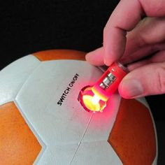 - Sports Ball LED Insert and Battery Pack! - Replacement Light Insert for LED Sports Balls! - Make your Glow in the Dark Sport Ball Light Up like New! - Includes 3 Pieces of Batteries! Football Officials, Ball Lights, Beach Ball, Light Up, Glow, Make It Yourself, Night, Compact, Balls
