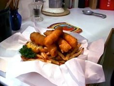 Chips and Fish Recipe : Alton Brown : Food Network